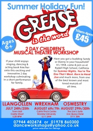 Grease Musical Workshop